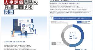 人事評価業務の負担に関する調査